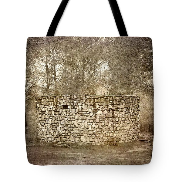 The Stone Forest Becomes An Architectural Circle  Tote Bag by Guido Montanes Castillo
