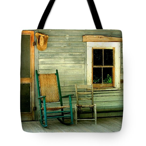 The Stories They Could Tell Tote Bag by Myrna Bradshaw