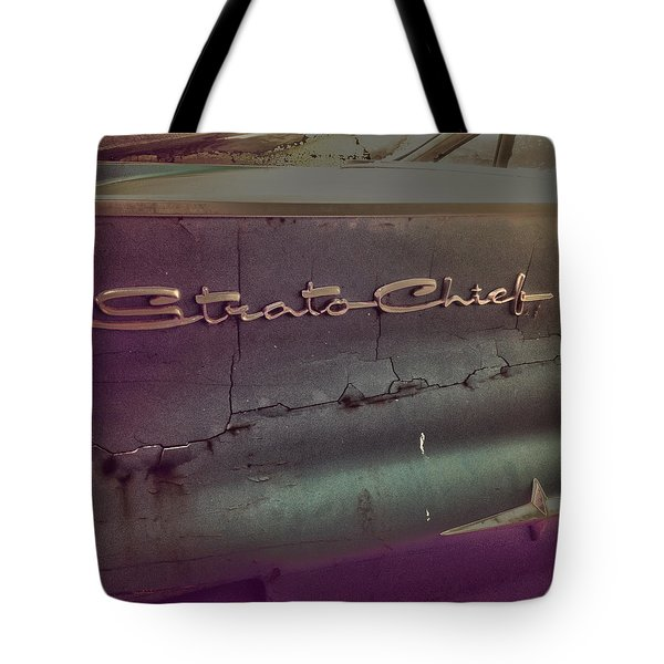 The Strat Tote Bag by Empty Wall