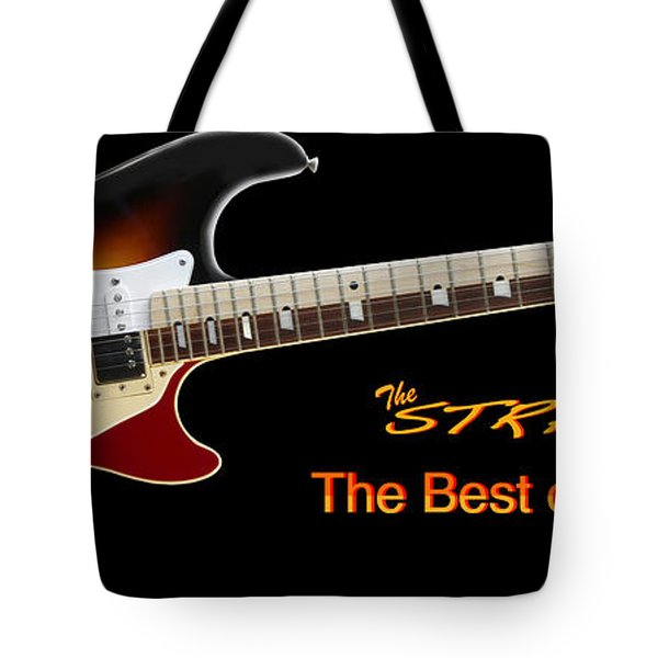 The Strat Les Guitar Tote Bag by Mike McGlothlen