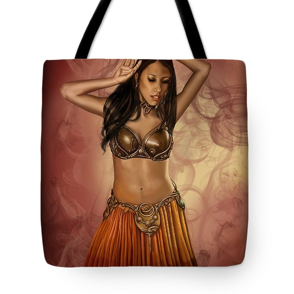 The Sultan's Muse Tote Bag by James Christopher Hill