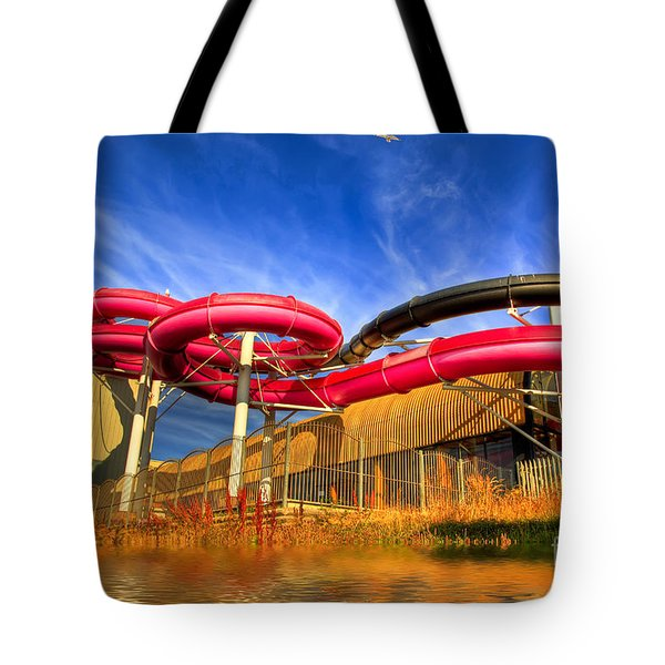 The Sun Centre Tote Bag by Adrian Evans