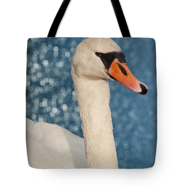 The Swan Tote Bag by Angela Doelling AD DESIGN Photo and PhotoArt
