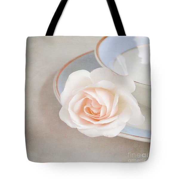 The Sweetest Rose Tote Bag by Lyn Randle