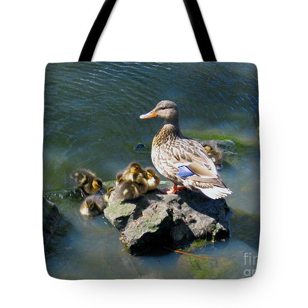 The Swimming Lesson Tote Bag by Rory Sagner