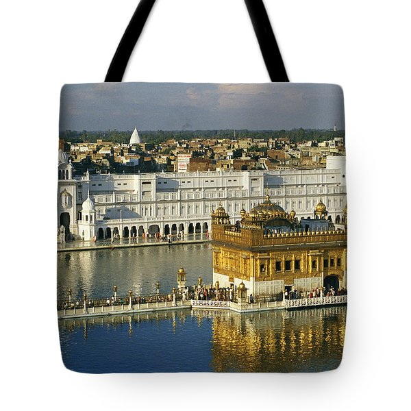 The Temple Complex Tote Bag