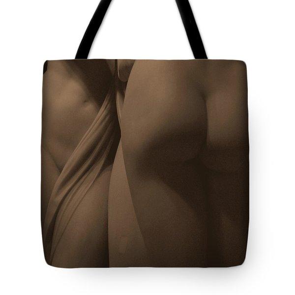 The Three Graces Voyeur II Tote Bag
