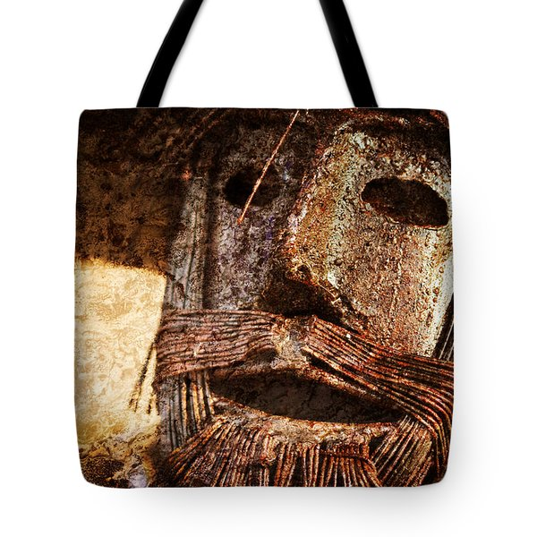 The Tin Man Tote Bag by Kathy Clark