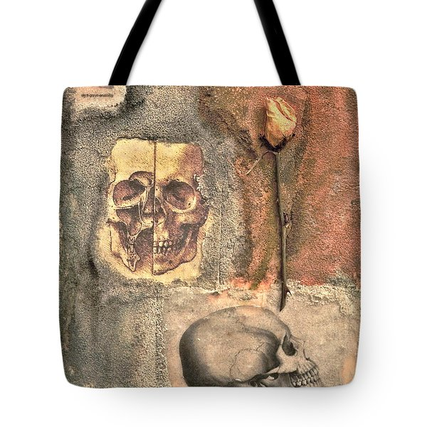 The Tomb Tote Bag by Catherine Conroy