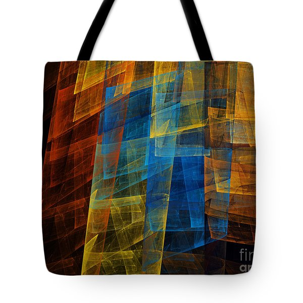 The Towers 1 Tote Bag by Andee Design