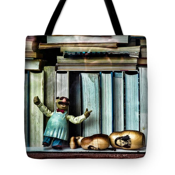 The Tragic Opera Singer Tote Bag by Bob Orsillo