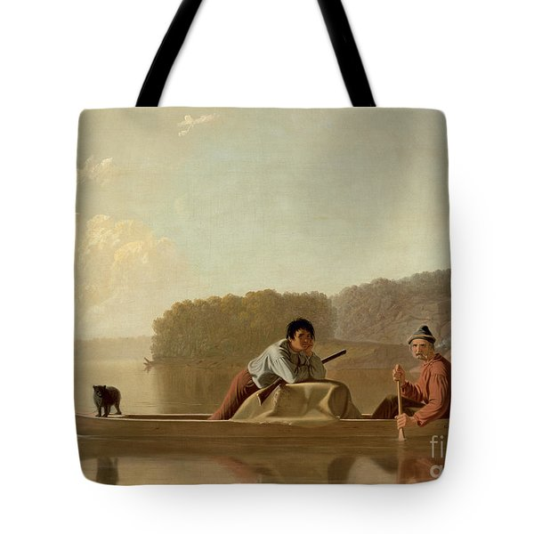 The Trapper's Return Tote Bag by George Caleb Bingham