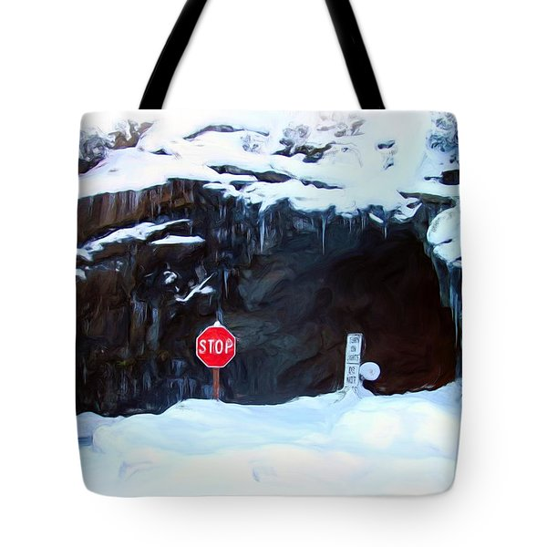 The Tunnel View Tunnel Tote Bag by Heidi Smith
