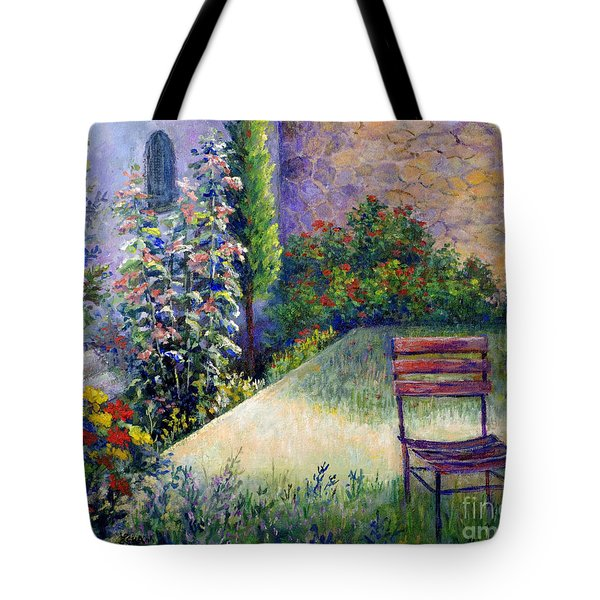 Tote Bag featuring the painting The Unseen Guest by Lou Ann Bagnall