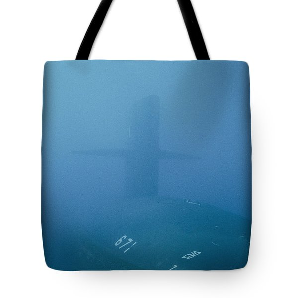 The Uss Narwhal Ssbn 617 Now Tote Bag