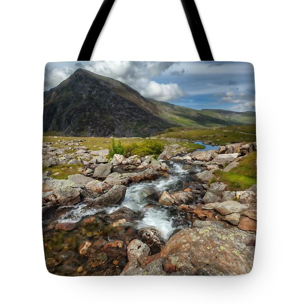 The Valley Tote Bag by Adrian Evans