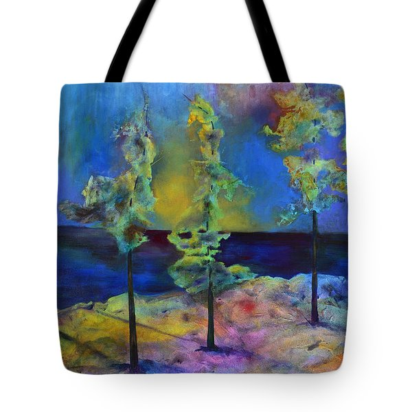 The View Tote Bag by Claire Bull