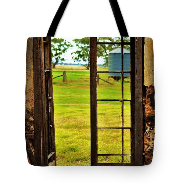 Tote Bag featuring the photograph The View From Within by Blair Stuart