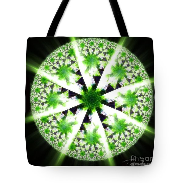 The Vision Of The Healer Tote Bag by Danuta Bennett