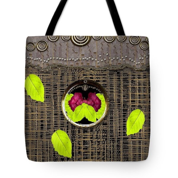 The Warm Summer Lotus Pond Pop Art Tote Bag