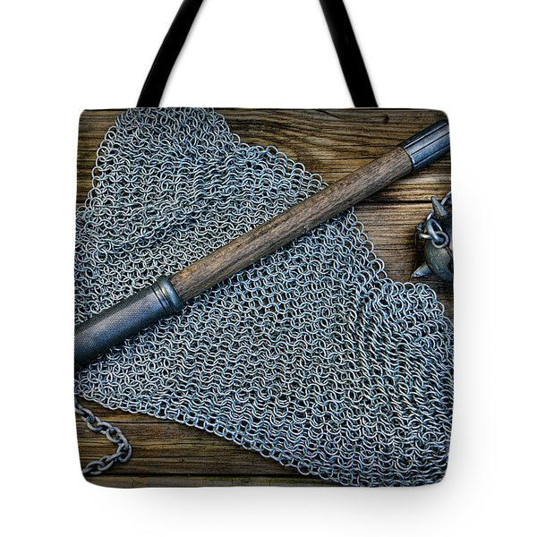 The Warriors Mace Tote Bag by Paul Ward