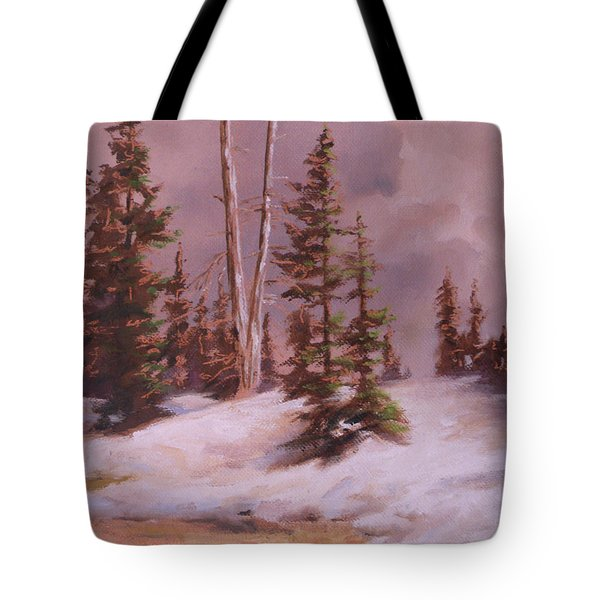 The Wasatch Divide Plein Air Tote Bag by Mia DeLode