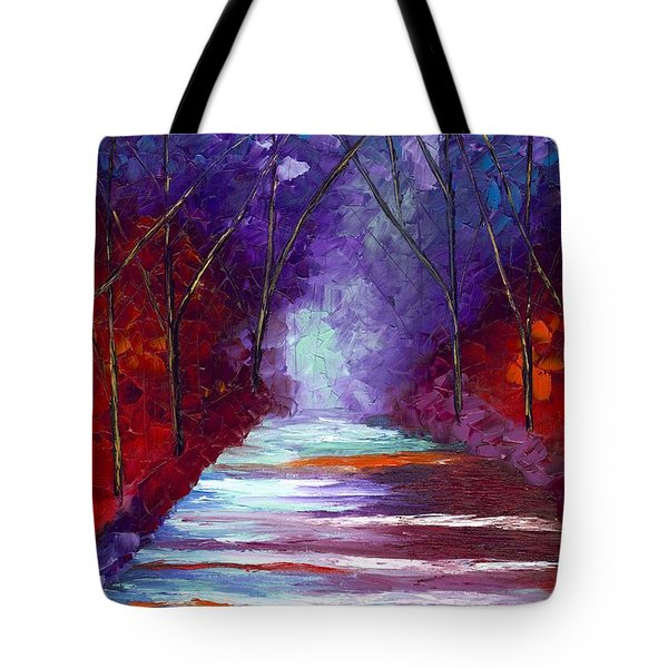 The Watchers Tote Bag by Jessilyn Park