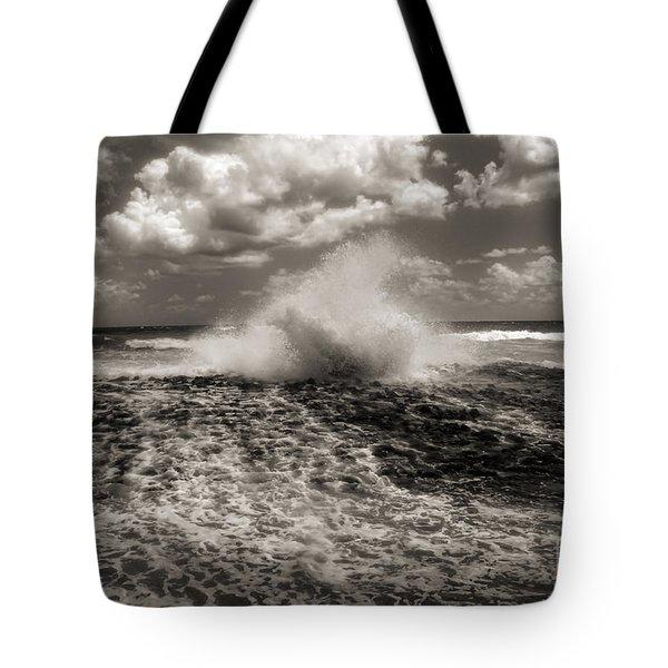 The Wave Tote Bag by Jeff Breiman