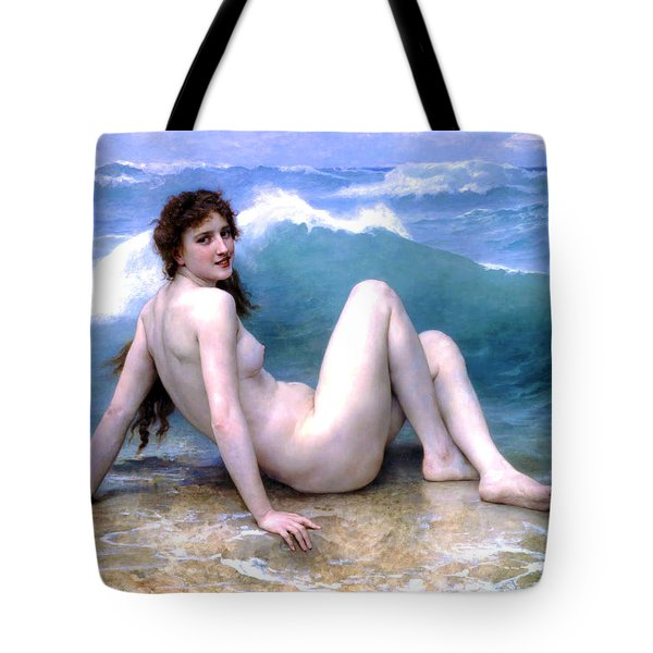The Wave Tote Bag by Sumit Mehndiratta