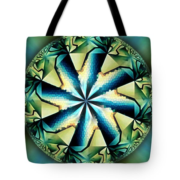 The Waves Of Silk Tote Bag
