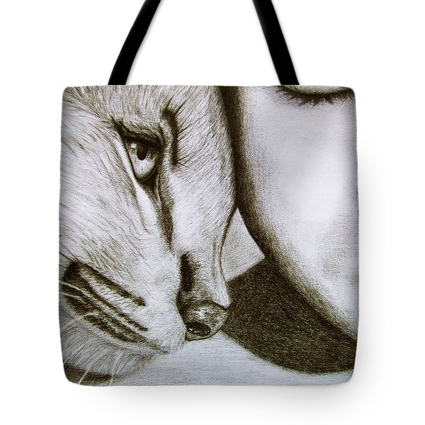 The Wild And The Innocent Tote Bag by Ana Leko Nikolic