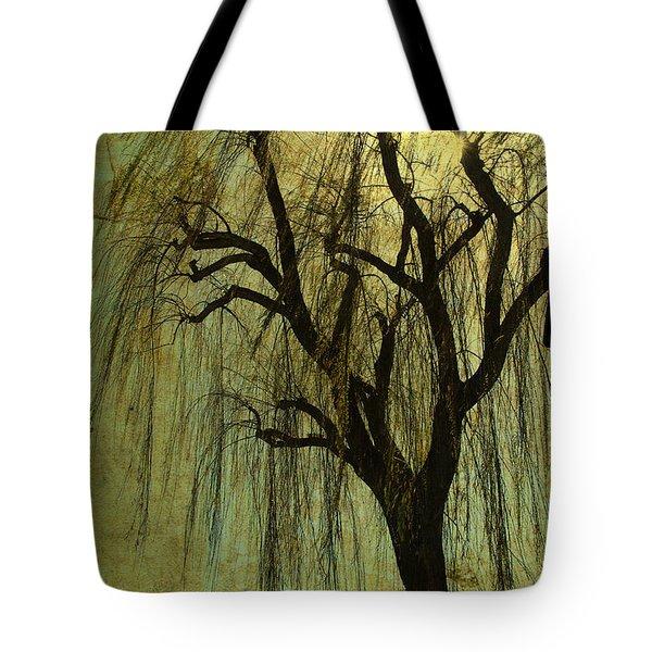 The Willow Tree Tote Bag by Susanne Van Hulst