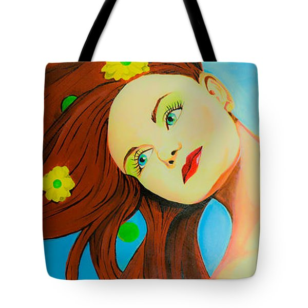 The Wind Blows A Kiss Tote Bag by Chris  Leon