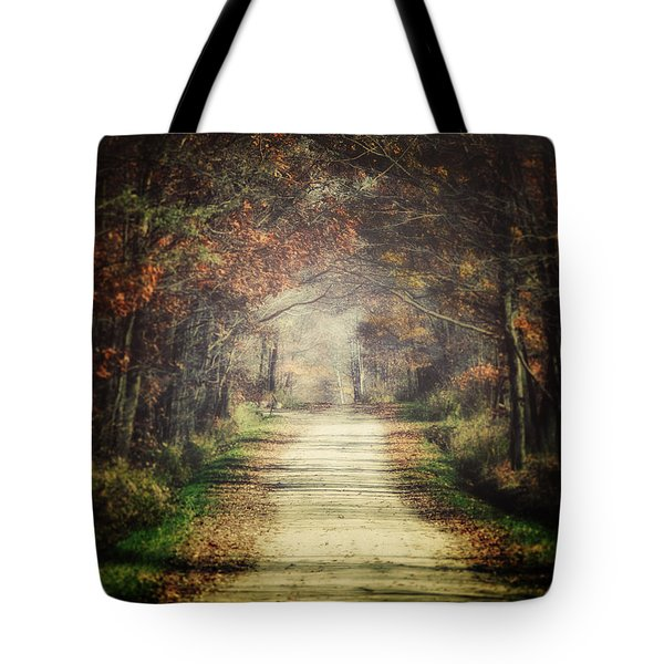 The Winding Road Tote Bag by Lisa Russo