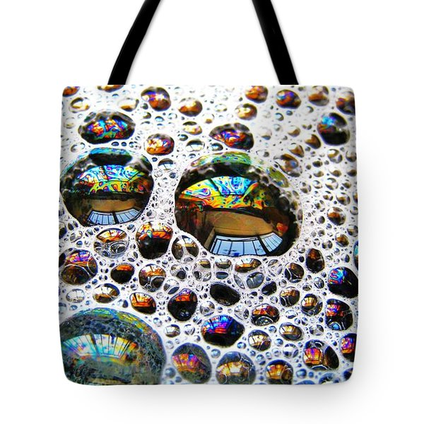 Tote Bag featuring the photograph The Windows In There by John King
