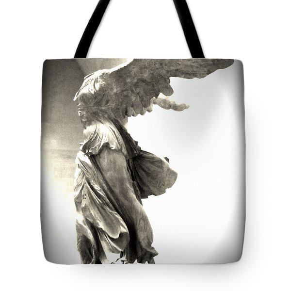 The Winged Victory - Paris Louvre Tote Bag