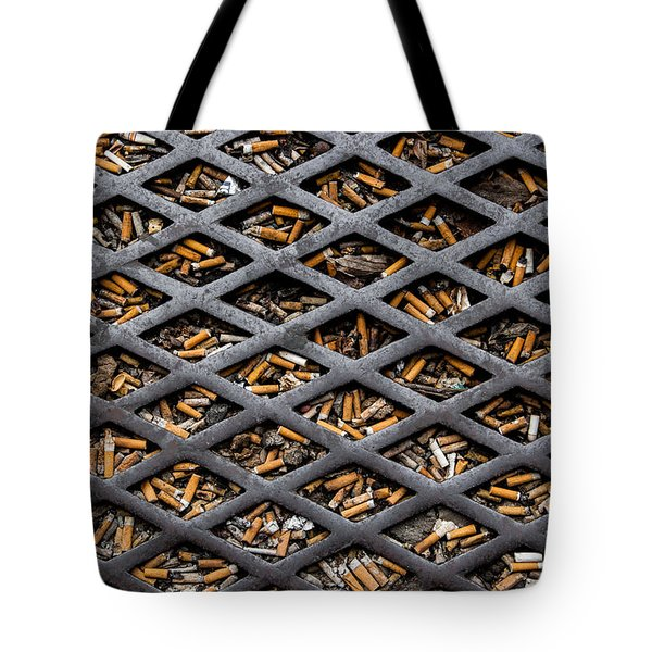 The World Becomes Your Ashtray Tote Bag