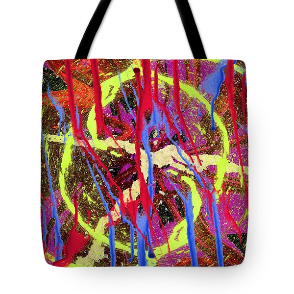 The Writing On The Wall 8 Tote Bag by Tim Allen