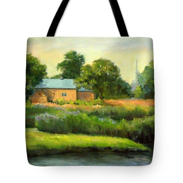 The Yellow Barn Tote Bag