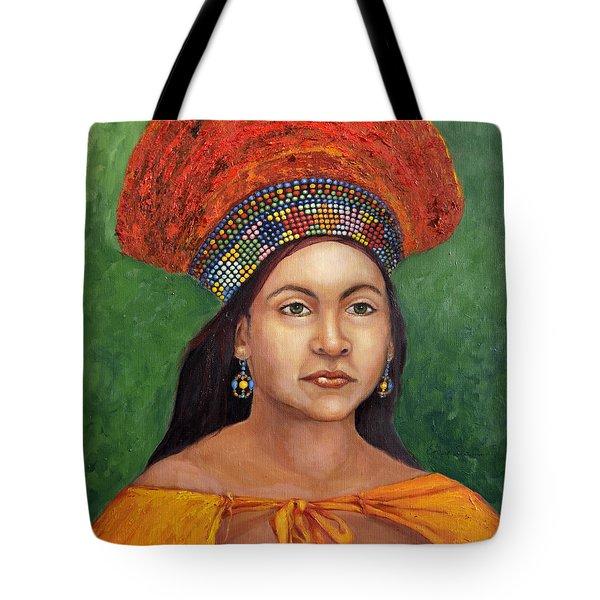 The Zulu Bride Tote Bag by Enzie Shahmiri