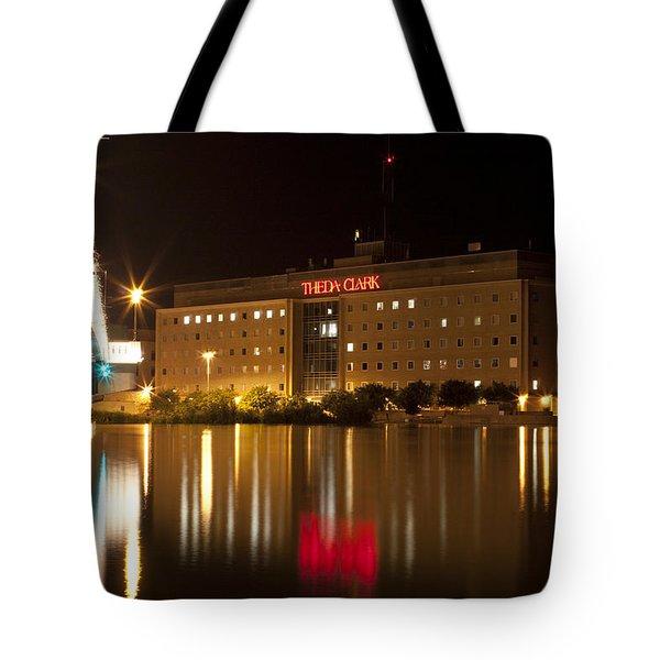 Theda Clark Hospital Tote Bag