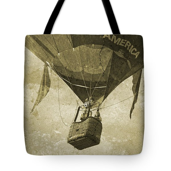 Their Faces Tote Bag by Betsy Knapp