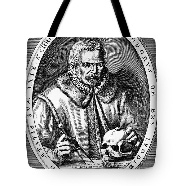 Theodor De Bry (1528-1598) Tote Bag by Granger