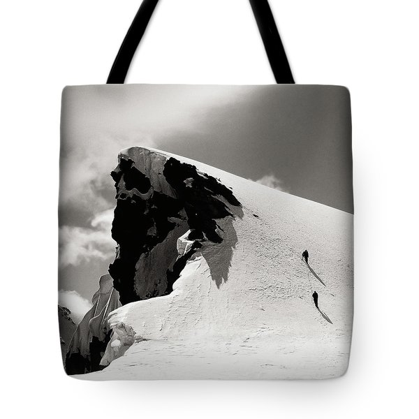 They Are Going.. Tote Bag by Konstantin Dikovsky