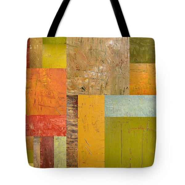 Thick Paint Abstract I Tote Bag by Michelle Calkins