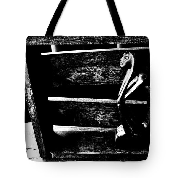Thinking Inside The Box Tote Bag by Sally Bauer