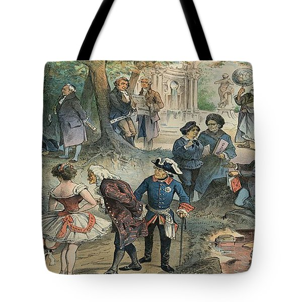 This Business Is Removed To Sheol Tote Bag by Photo Researchers