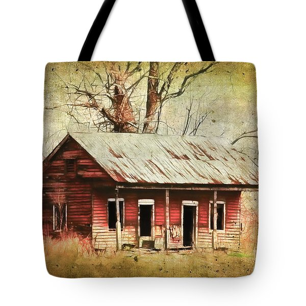 This Old House Tote Bag by Judi Bagwell