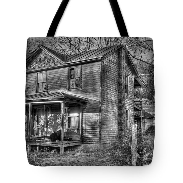 This Old House Tote Bag by Todd Hostetter