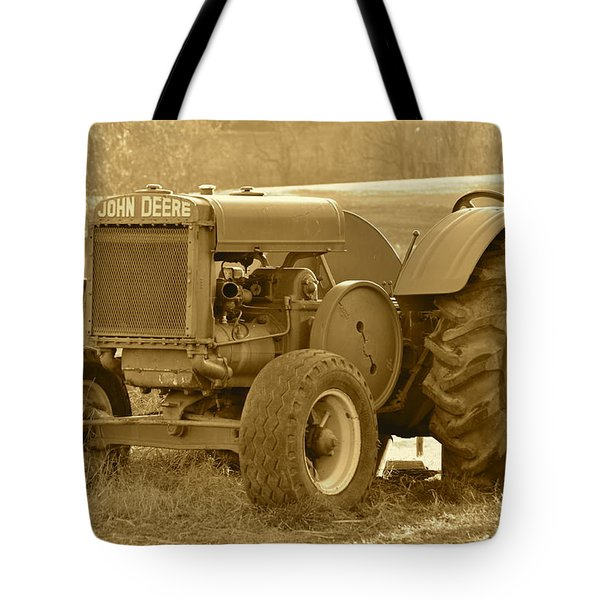 This Old Tractor Tote Bag